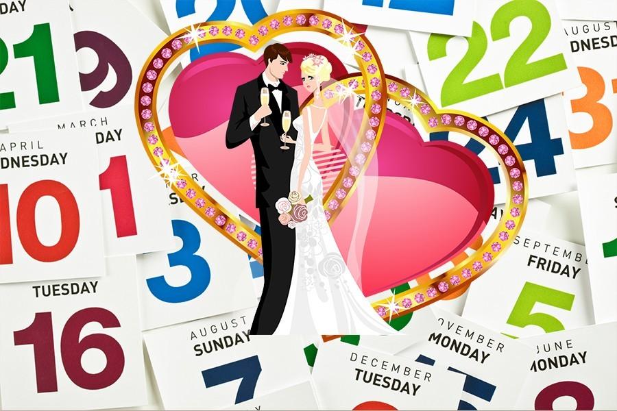 Дата свадьбы может повлиять на ваш брак